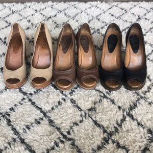 {Michael Kors} Wedges. Size 7.5. All three pair.